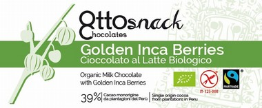 Ottosnack Milk Chocolate with Inca Berry chocolate 100 g